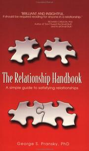 The relationship handbook george pransky